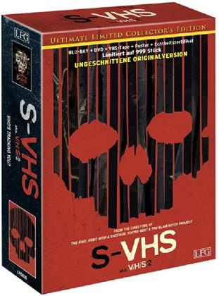 S-VHS - aka. V/H/S 2 (2013) (Collector's Edition, Limited Edition, Ultimate Edition, Uncut, Blu-ray + DVD)
