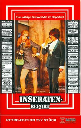Inseraten-Report (1965) (Grosse Hartbox, Retro Edition, Cover A, X-Rated Kult DVD, Uncut)