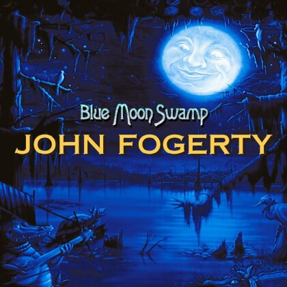 John Fogerty - Blue Moon Swamp (20th Anniversary Edition, Limited Edition, Blue Vinyl, LP)