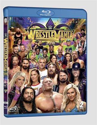WWE: Wrestlemania 34 (2 Blu-ray)