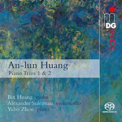 An-Lun Huang - Pianos Trios Nr. 1 & 2 (SACD)