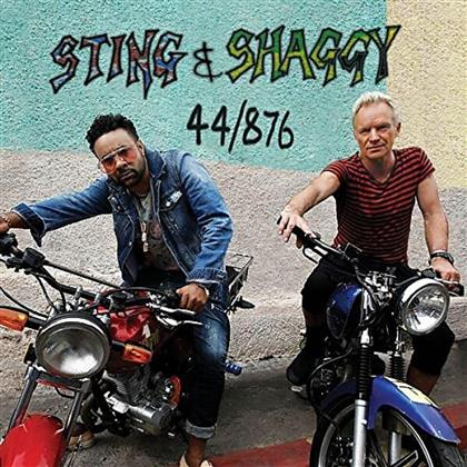 Sting & Shaggy - 44/876 - Gatefold (Limited Edition, Red Vinyl, LP)