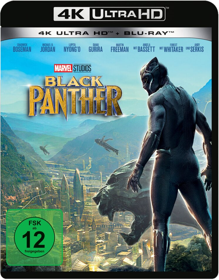 Black Panther (2018) (4K Ultra HD + Blu-ray)