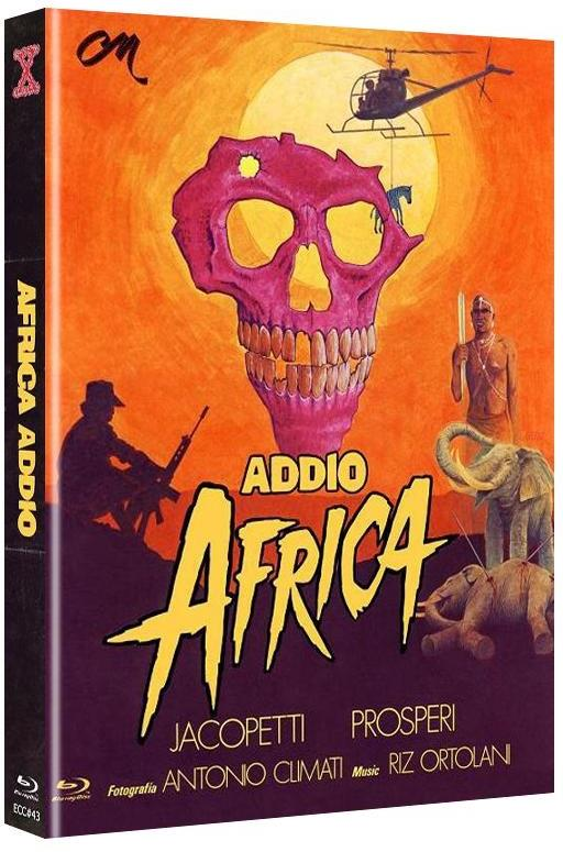 Africa Addio (1966) (Cover B, Eurocult Collection, Limited Edition, Mediabook, Uncut, Blu-ray + DVD)