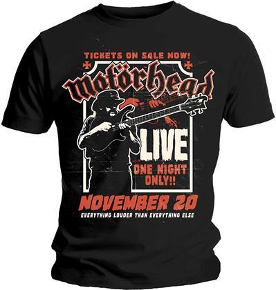 Motorhead Unisex Tee - Lemmy Firepower