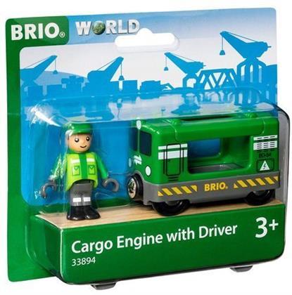BRIO Bahn 33894 Frachtlok mit Fahrer
