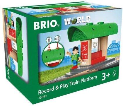 Bahnhof mit Aufnahmefunktion - BRIO 33840