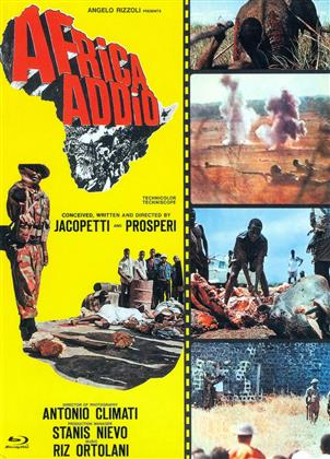 Africa Addio (1966) (Cover C, Eurocult Collection, Limited Edition, Mediabook, Uncut, Blu-ray + DVD)