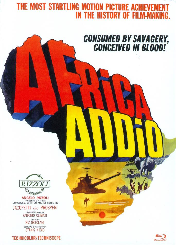 Africa Addio (1966) (Cover D, Eurocult Collection, Limited Edition, Mediabook, Uncut, Blu-ray + DVD)