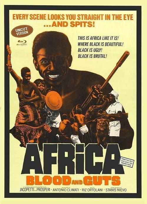 Africa - Blood and Guts (1966) (Cover E, Eurocult Collection, Edizione Limitata, Mediabook, Uncut, Blu-ray + DVD)