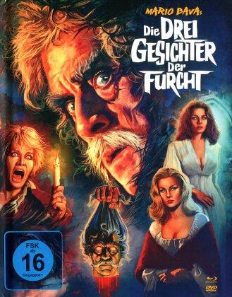 Die drei Gesichter der Furcht (1963) (Collector's Edition, Limited Edition, Mediabook, Uncut, Blu-ray + 2 DVDs)