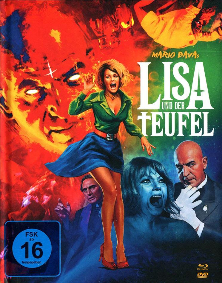 Lisa und der Teufel (1973) (Collector's Edition, Limited Edition, Mediabook, Uncut, Blu-ray + 2 DVDs)