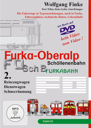 Furka-Oberalp Schöllenenbahn - Teil 2