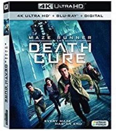 Maze Runner 3 - The Death Cure (2018) (4K Ultra HD + Blu-ray)