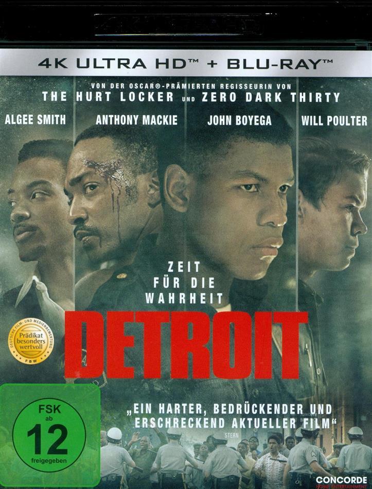 Detroit (2017) (4K Ultra HD + Blu-ray)