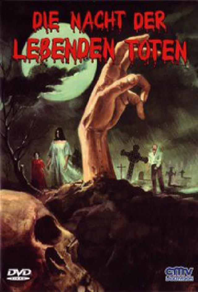 Die Nacht der lebenden Toten (1968) (Kleine Hartbox, Cover B, s/w, Uncut)