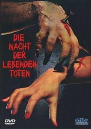 Die Nacht der lebenden Toten (1968) (Kleine Hartbox, Cover A, n/b, Uncut)