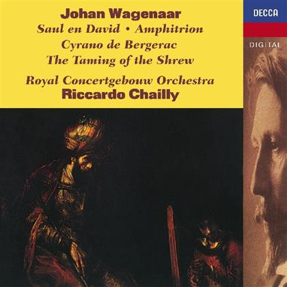 Johan Wagenaar, Riccardo Chailly & Royal Concertgebouw Orchestra - Saul En David / Amphitrion / Cyrano De Bergerac - The Taming Of The Shrew