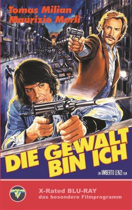 Die Gewalt bin ich (1977) (Grosse Hartbox, Cover A, Limited Edition)