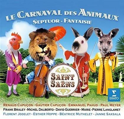 Renaud Capuçon, Gautier Capuçon, Emmanuel Pahud, Paul Meyer, Frank Braley, … - Le Carnaval Des Animaux, Septuor - Fantaisie (UHQCD)