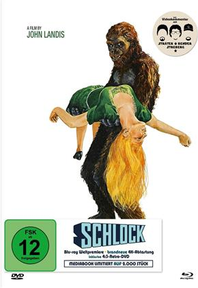 Schlock (1973) (Limited Edition, Mediabook, Uncut, Blu-ray + DVD)