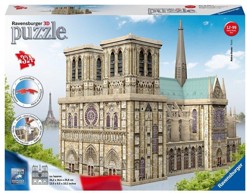 Notre Dame - 3D Gebäude Puzzle