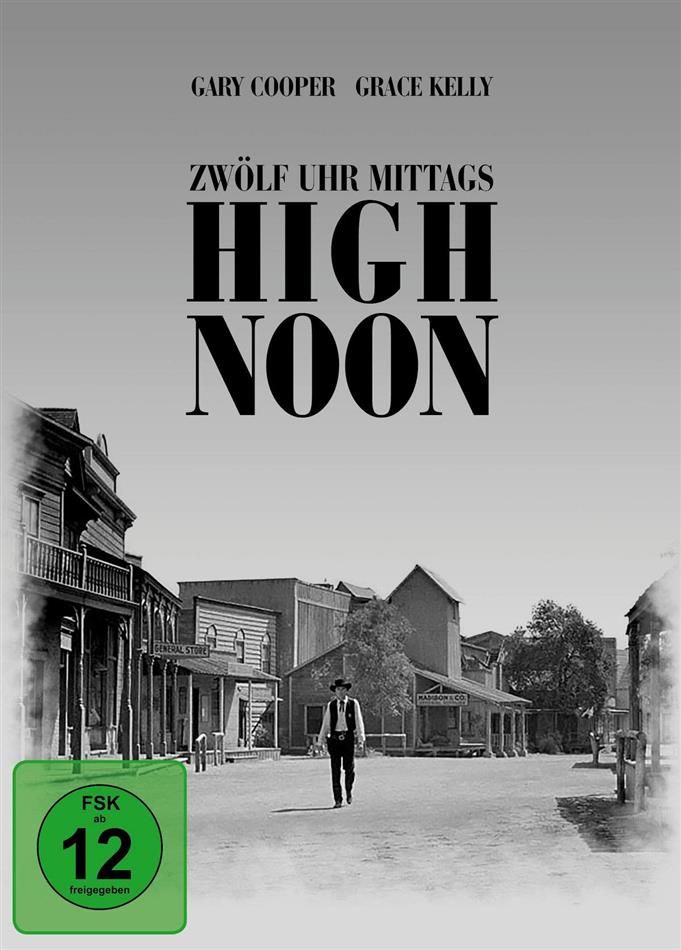 High Noon - Zwölf Uhr mittags (1952) (Filmjuwelen, s/w, Limited Edition, Mediabook, Blu-ray + DVD)