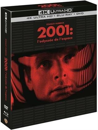 2001: L'odyssée de l'espace (1968) (4K Ultra HD + 2 Blu-rays + DVD)