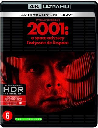 2001: L'odyssée de l'espace (1968) (4K Ultra HD + Blu-ray)