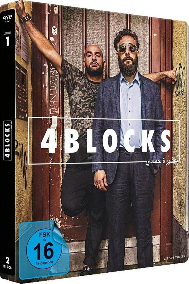 4 Blocks - Staffel 1 (Limited Edition, Steelbook, 2 Blu-rays)