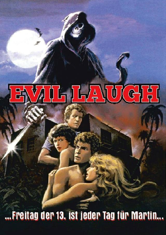 Evil Laugh (1986) (Kleine Hartbox, Cover B, Limited Edition, Uncut)