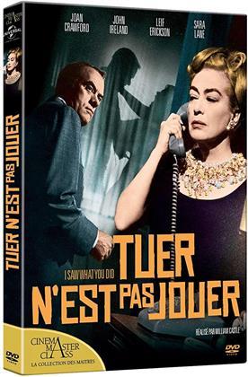 Tuer n'est pas jouer (1965) (Cinéma MasterClass : La collection des Maîtres, s/w)