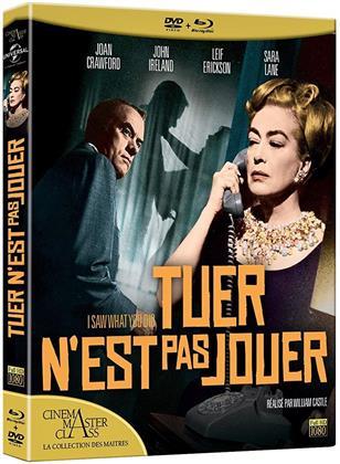 Tuer n'est pas jouer (1965) (Cinéma MasterClass : La collection des Maîtres, n/b, Blu-ray + DVD)