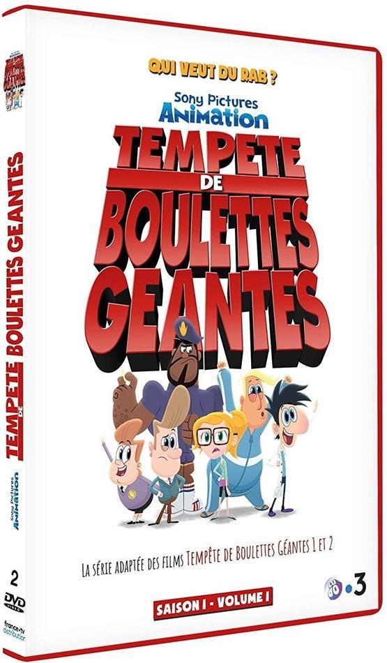 Tempête de boulettes géantes - Saison 1 - Volume 1 (2 DVDs)