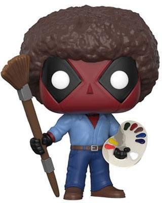 Deadpool Parody: Deadpool Bob Ross POP! 319 - Vinyl Figur