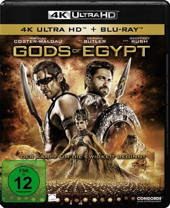Gods Of Egypt (2016) (4K Ultra HD + Blu-ray)