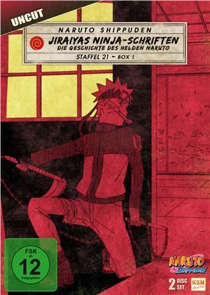 Naruto Shippuden - Staffel 21 Box 1 (Uncut, 2 DVDs)
