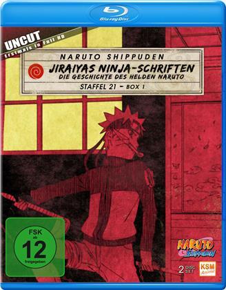 Naruto Shippuden - Staffel 21 Box 1 (Uncut, 2 Blu-rays)
