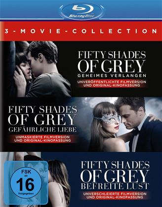 Fifty Shades of Grey - 3-Movie Collection (3 Blu-rays)