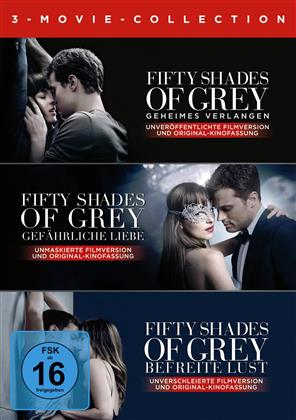 Fifty Shades of Grey - 3-Movie Collection (3 DVDs)