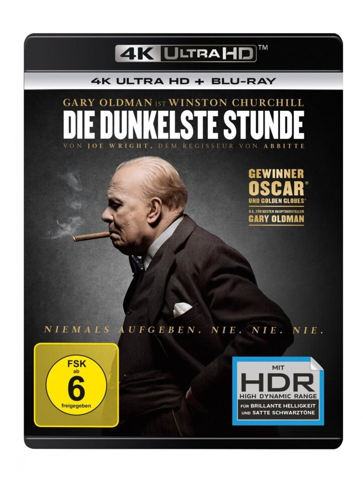 Die dunkelste Stunde (2017) (4K Ultra HD + Blu-ray)