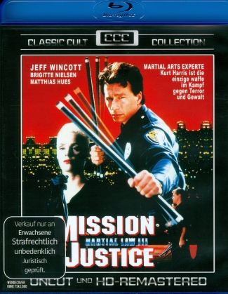Mission of Justice - Martial Law 3 (1992) (Classic Cult Collection)