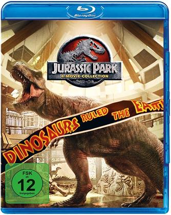 Jurassic Park Collection - 4-Movie-Collection (4 Blu-rays)