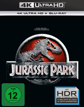 Jurassic Park (1993) (4K Ultra HD + Blu-ray)