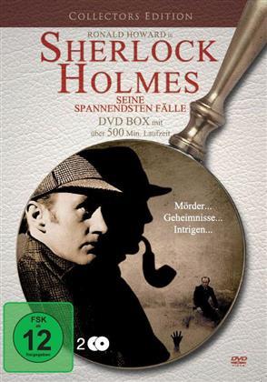 Sherlock Holmes - Seine spannendsten Fälle (Collector's Edition, 2 DVDs)