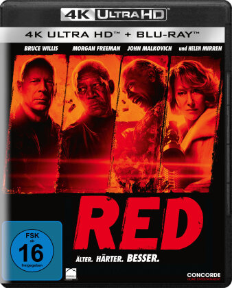 Red (2010) (4K Ultra HD + Blu-ray)