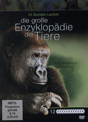 Die grosse Enzyklopädie der Tiere (Metalbox, Limited Edition, 12 DVDs)