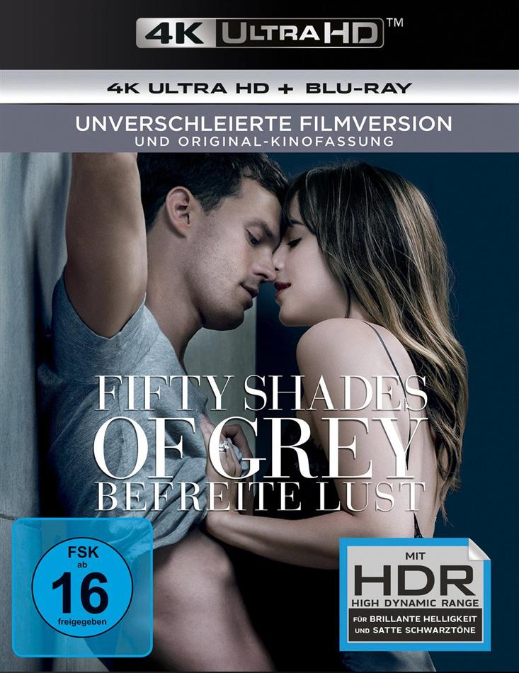 Fifty Shades of Grey 3 - Befreite Lust (2018) (Unverschleierte Filmversion, Original-Kinofassung, 4K Ultra HD + Blu-ray)
