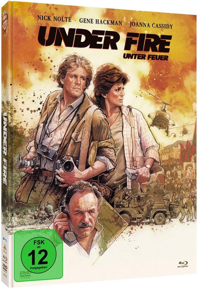 Under Fire - Unter Feuer (1983) (Limited Edition, Mediabook, Blu-ray + DVD)