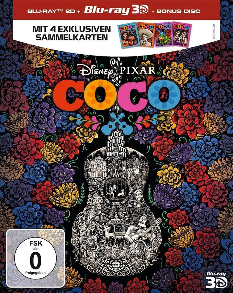 Coco - Lebendiger als das Leben! (2017) (Blu-ray 3D + 2 Blu-rays)